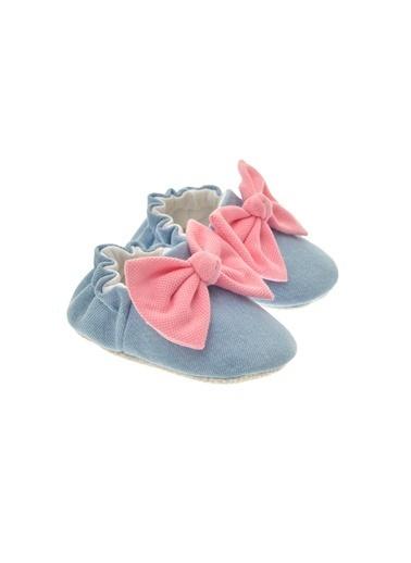 Freesure 211622 Jean Freesure Kız Bebek Patik Bebek Ayakkabı  Mavi